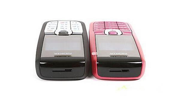 الأصلي لوحة مفاتيح نوكيا 2610 الإنجليزية الروسية العربية 2G GSM الهاتف 900 / 1800MHZ النطاق المزدوج متعدد اللغات تجديد موبايل
