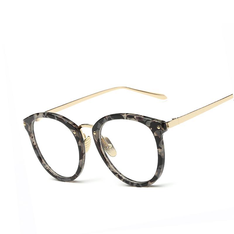 0286492abe 2019 Wholesale New Oversized Eye Glasses Frames For Women Brand Desinger Vintage  Eyeglasses Men Frame Clear Lens Reading Glasses Optics Eyewear From ...