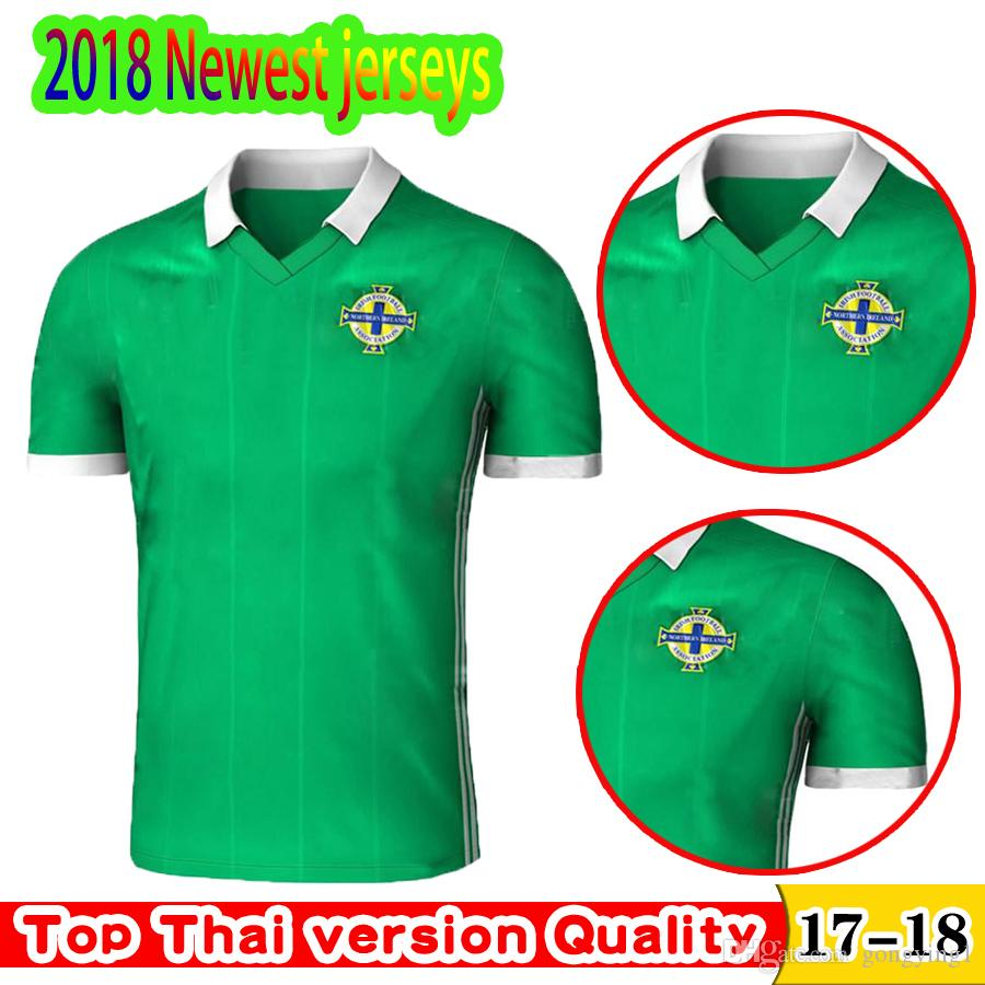 665aa6531 Newest 2018 Northern Ireland World Cup Jersey McNAIR Home Green Away White  K LAFFERTY DAVIS Thai Quality Northern Ireland Soccer Jersey UK 2019 From  ...
