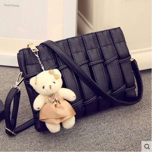 2016 Summer New Female Small Side Bag Fashion Handbags Woven ...