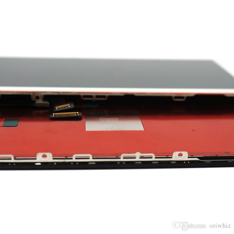 Hohe Qualität Ersatz Bildschirm für iPhone 8 und LCD-Digitizer Assembly Touchscreen schwarz-weiße Farbe 100% Test bestanden Mix Auftrag OK