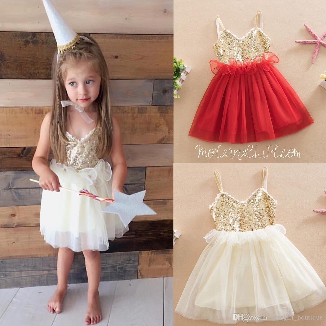 Professional Sale Girl Lace Mesh Dresses Summer 2019 Kids Girl Princess Ruffles Party Dress Sleeveless Children Vest Dress Baby Girl Clothes Dresses Mother & Kids