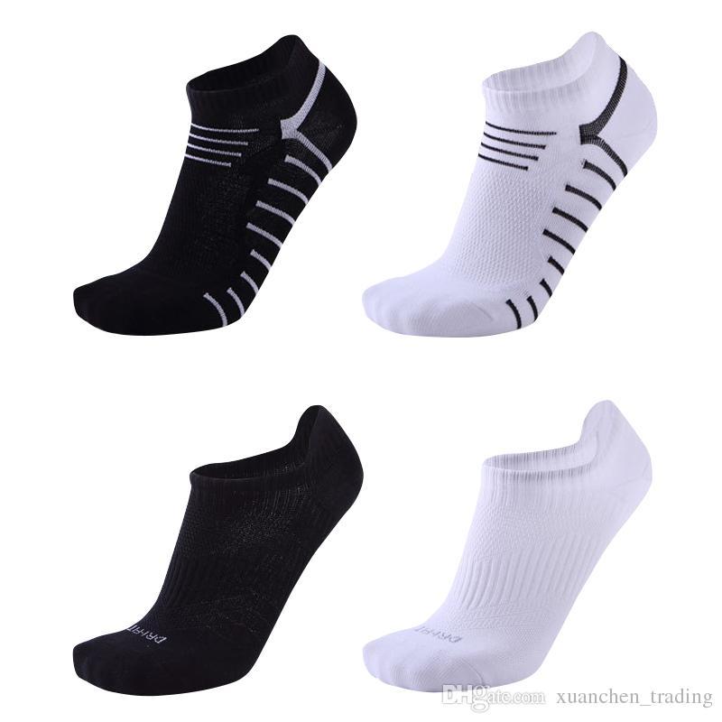 fa1117784 Fashion Cotton Men s basketball Socks Male Spring Summer Low Cut sport Socks  Men short socks boat sock Ankle Calcetines Ciclismo