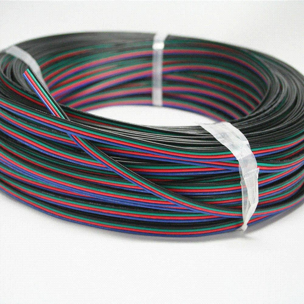 2m Rgb 4 Pin Extension Wire Connector Cable Cord For 3528 5050 Led Strip View 22awg Light Kits From E123123