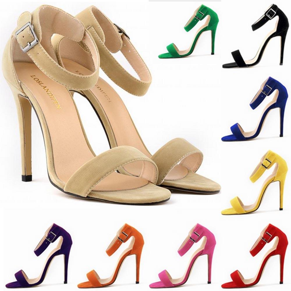 Sapato Feminino Party Sexy High-heeled Women s Shoes Fashion Sandals ... 1ad3d1e5db75