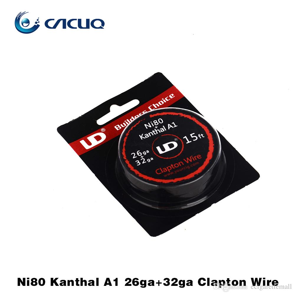 Original UD Twisted Wire Clapton A1 Kan A1 Wire 26g 28g 32awg 10M ...