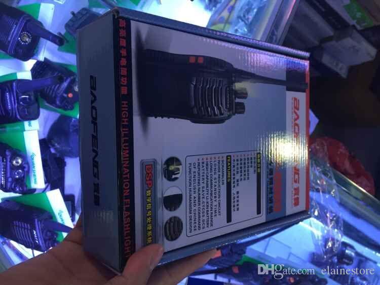 Baofeng BF-888s tattico fili portatile walkie-talkie 5W 400-470MHz radio bidirezionale Interphone portatile mobile