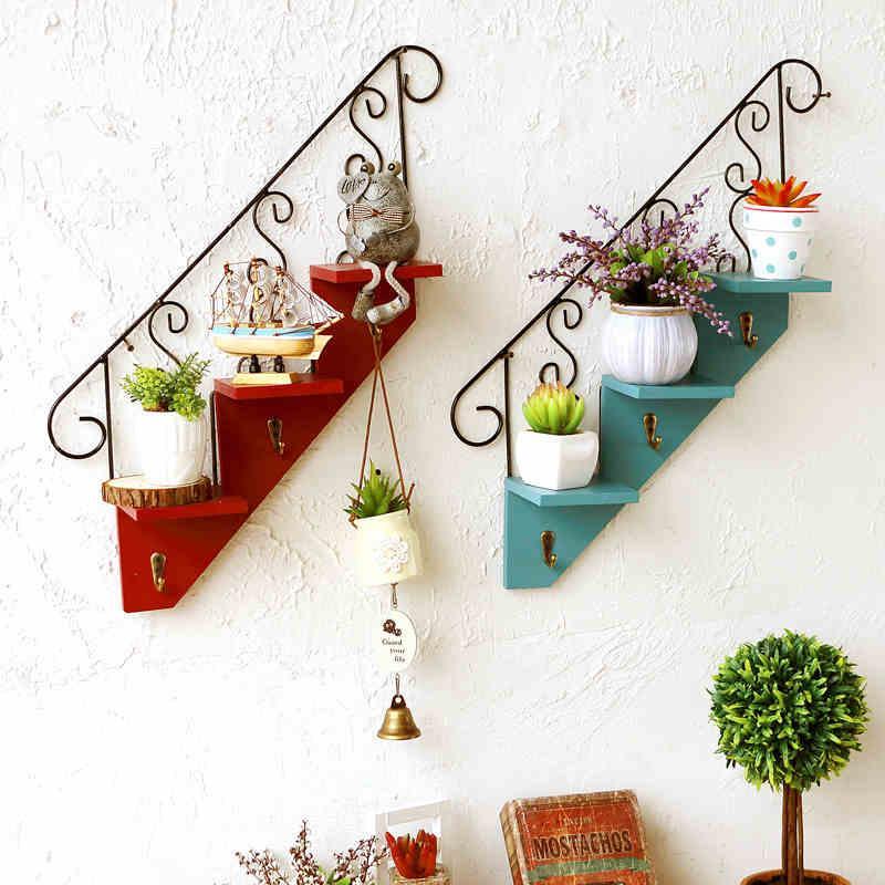 Acheter Escalier Crochets Muraux Europen Cratif Maison Salon