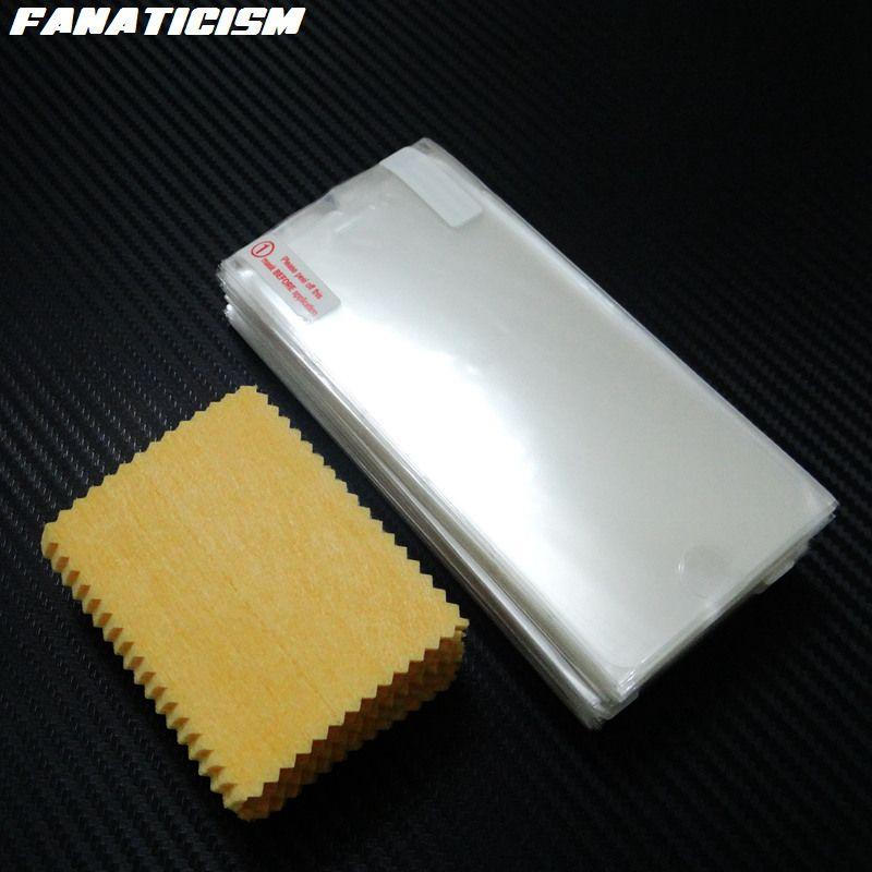 Fanaticism PET Matte Clear Screen Protector For iphone X XR XS Max 5s SE 6s 7 8 Plus Screen Guard Plastic Film