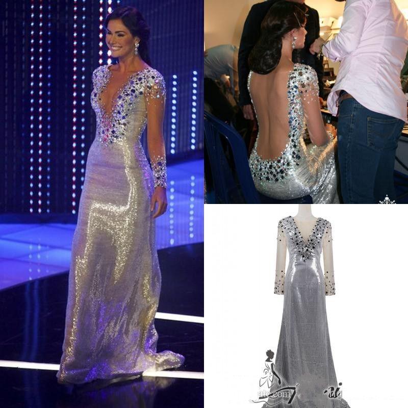 Irene Esser Miss Venezuela Universe Real Pageant Evening Dresses ...