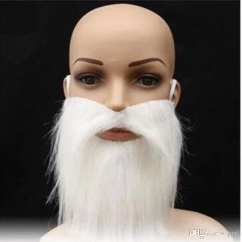 624c54edeed 2019 Creative Funny Costume Pirate Fake Moustache Funny Fake Beard Whisker  Cosplay Halloween Party Supplies From Juxl