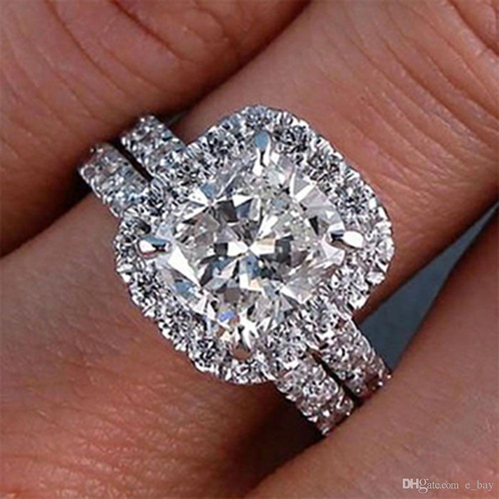 upon stone ring once white engagement halo a products diamond rings princess dimond gold