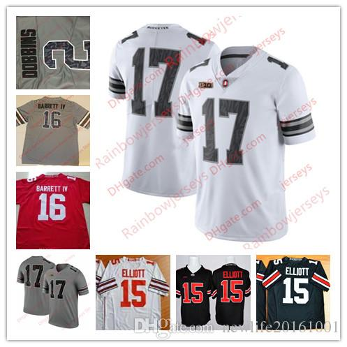 aa7f5fcbc 2019 Custom Ohio State Buckeyes 6 Sam Hubbard 9 Johnny Utah 12 Denzel Ward  17 Jerome Baker 18 Tate Martell College Jerseys 2017 White Gray Camo From  ...