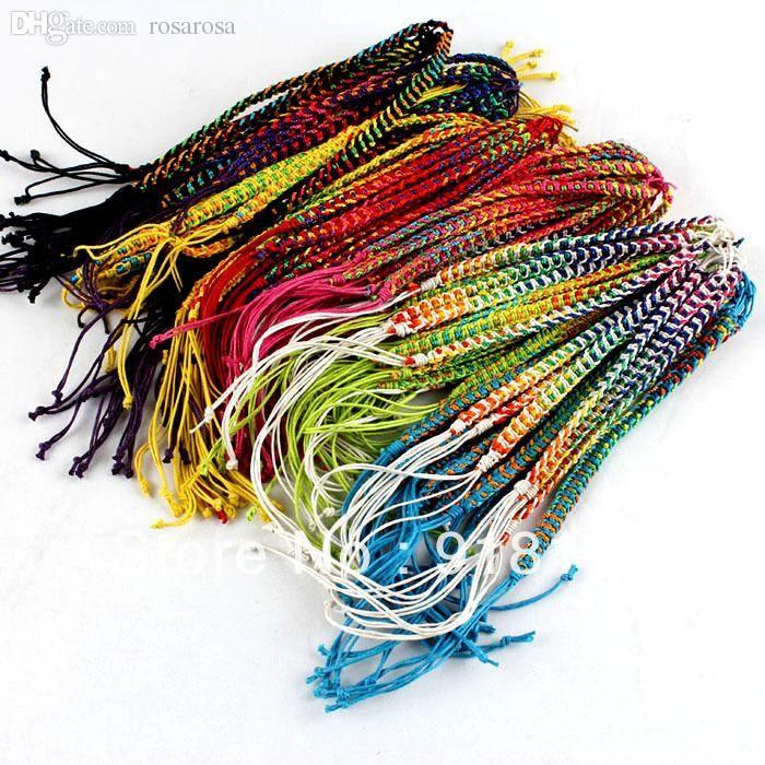 wholesale string bracelets friendship bracelets handmade