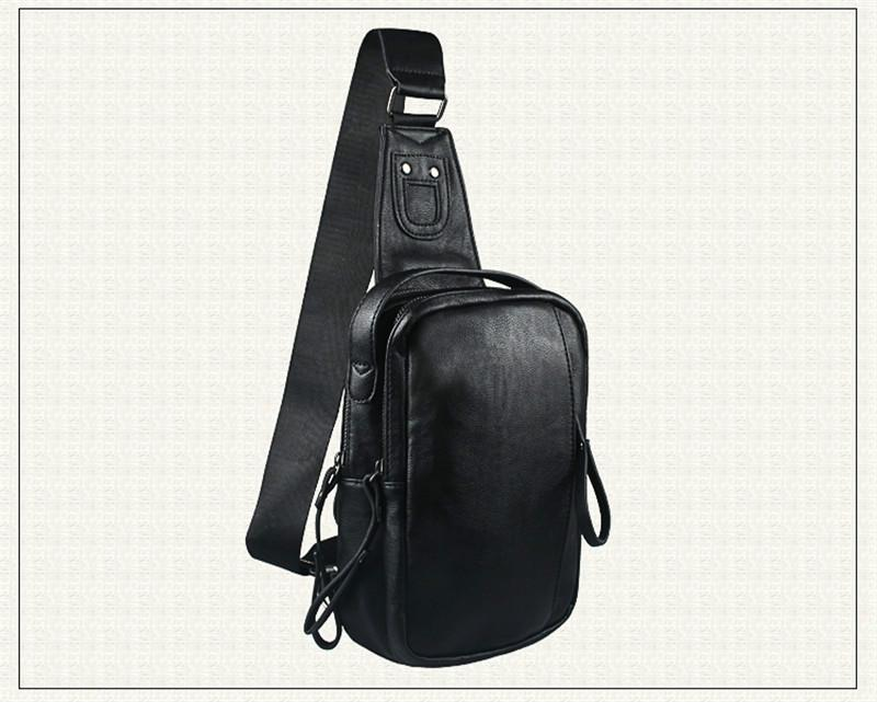 4f7f0ce44c3b Leather Men Bag Man Crossbody Shoulder Bag Men Small Business Bags Male  Messenger Leather Bags Black BA207 Hobo Bags Designer Bags From Cherrying