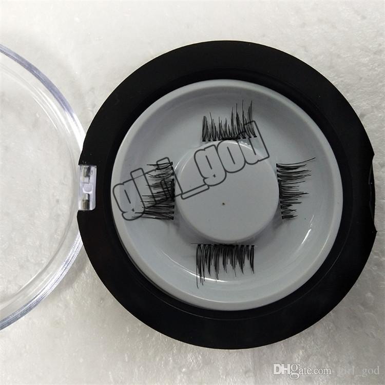 Magnetic Eyelashes 3D Mink handmade lashes no glue easy remove False Eye Lashes Extension Super Natural Long Fake Eyelashes.