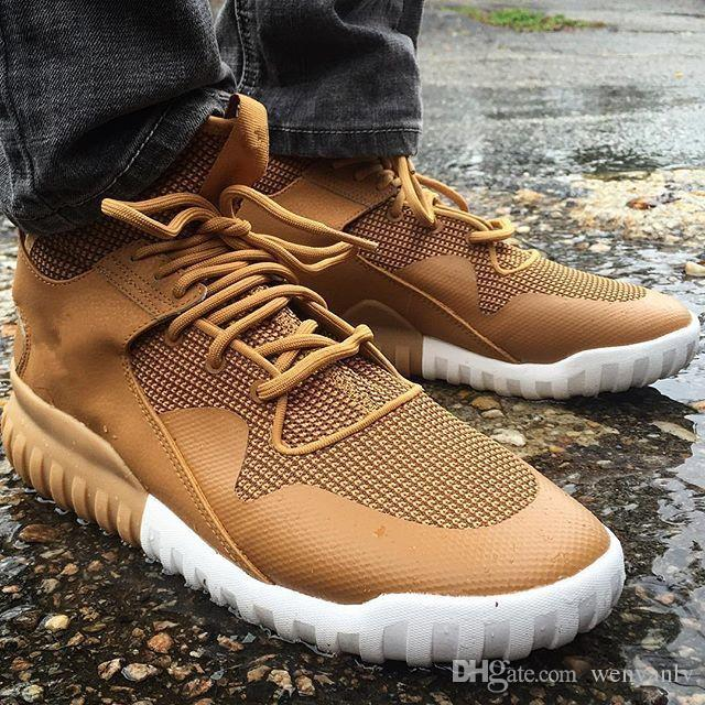 Tubular x knit on feet