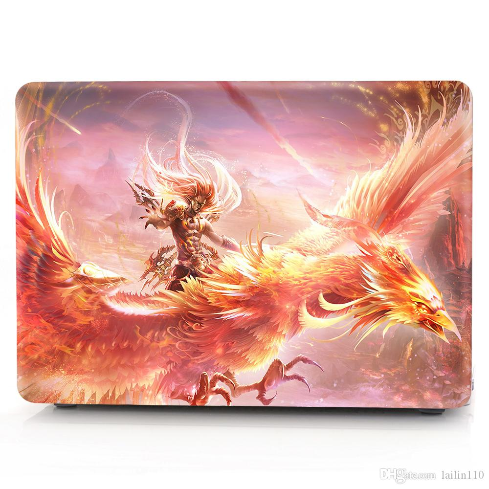 Ghost-2 Oil painting Case for Apple Macbook Air 11 13 Pro Retina 12 13 15 inch Touch Bar 13 15 Laptop Cover Shell