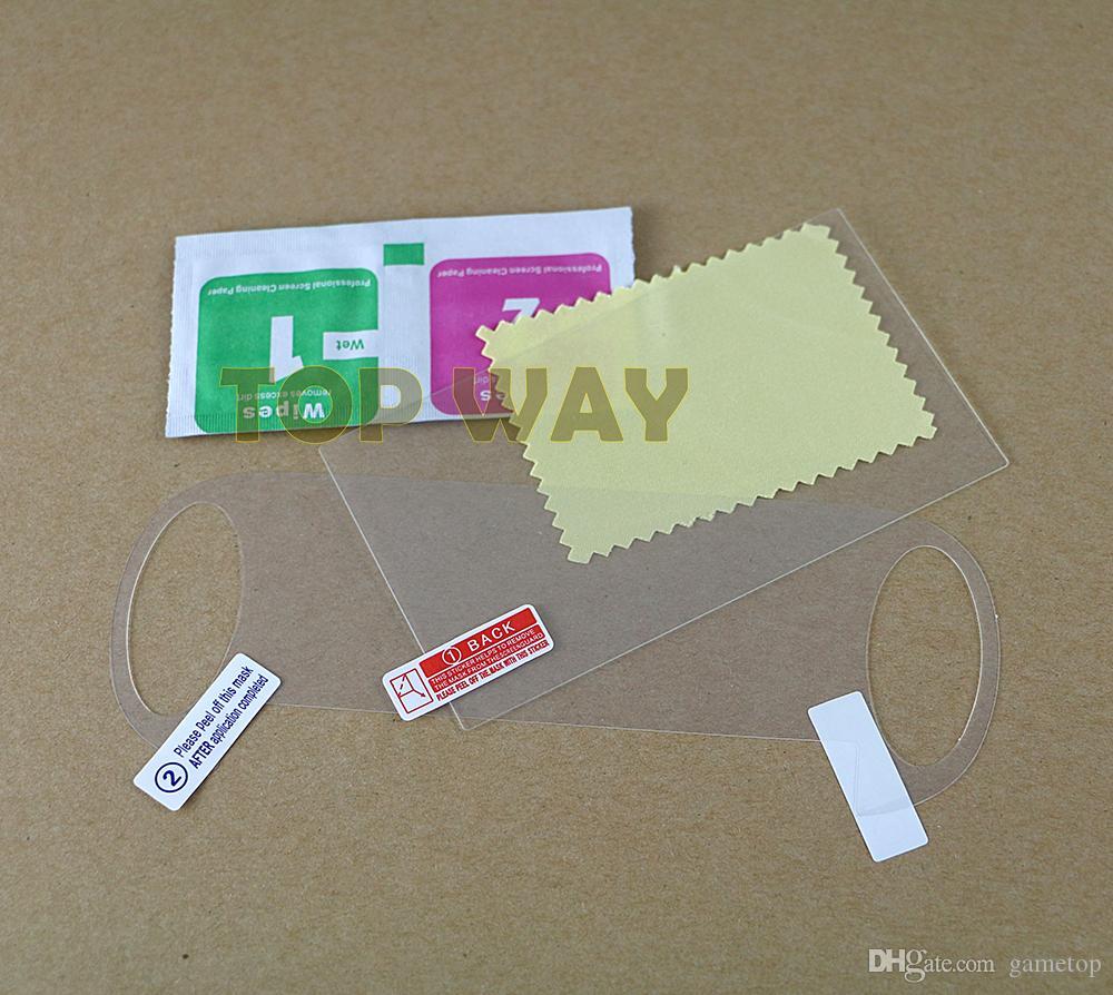 Закаленное стекло передняя пленка для PS Vita PSV 1000 контроллер для Sony PSV1000 PSVITA протектор экрана назад
