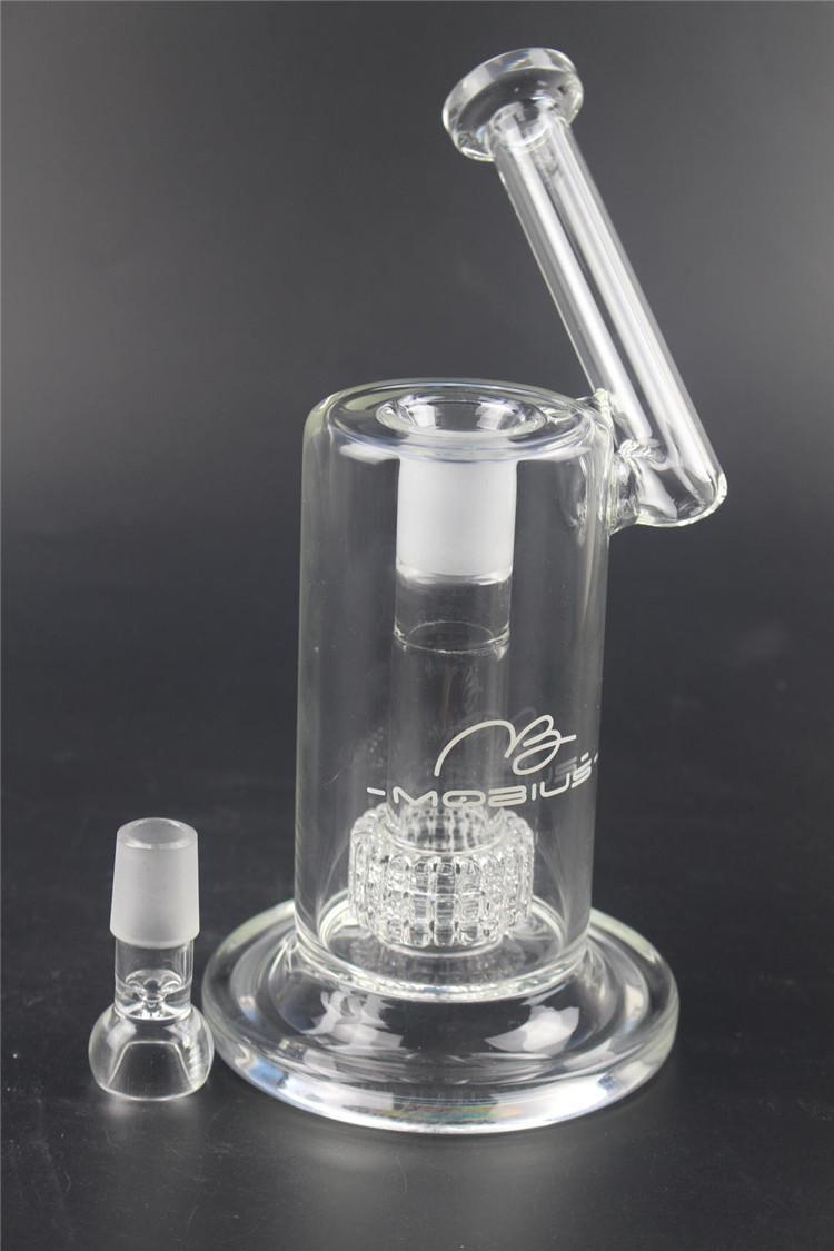 22 см высокая Матрица sidecar стекло бонг птичья клетка перк нефтяной вышки толщиной курение водопровод совместных размер 18.8 мм Бесплатная доставка