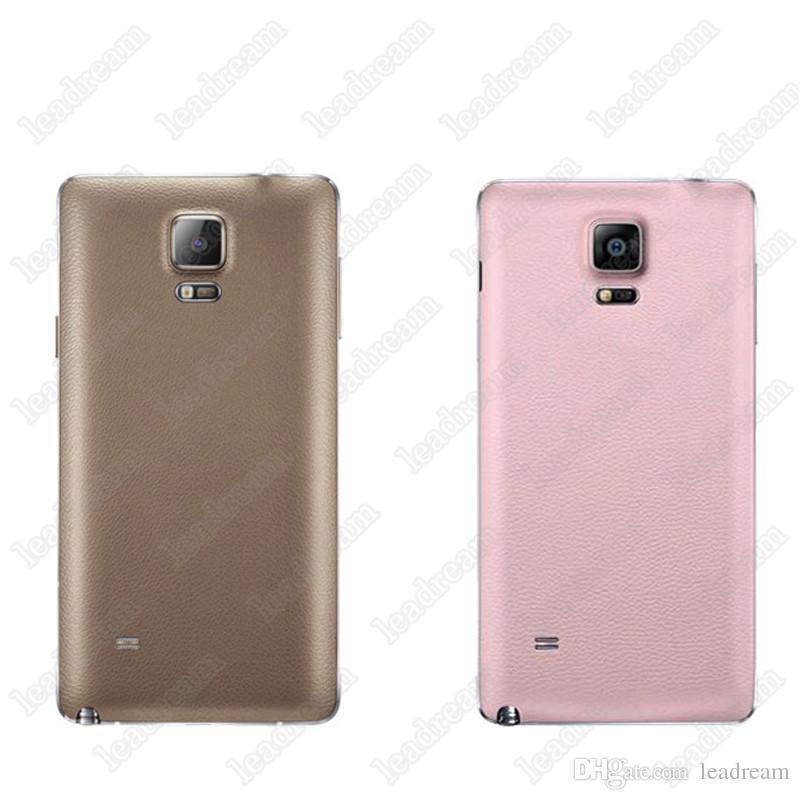 3 Couleurs Arrière Logement de Batterie Couverture Arrière Remplacement De Porte Pour Samsung Galaxy Note 2 3 4 N7100 N9000 N9100 DHL gratuit