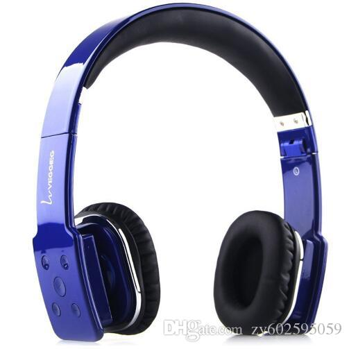 VEGGIEG V8100 Stretch Wireless Bluetooth V4.0 EDR Hands Free Headset MP3 Music Headphone With 3.5mm Jack And Micro USB Interface