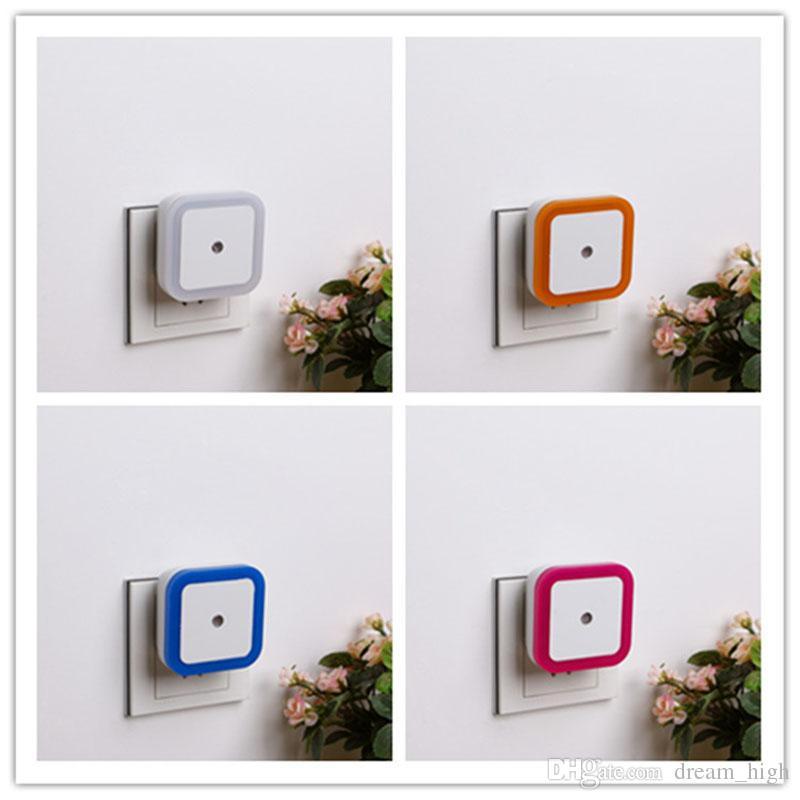 Sensore di controllo della luce a LED lampada da comodino Led Baby light control sensor light control 110V-220v US plug wall lights