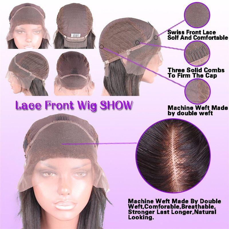 Glueless полный шнурок человеческих волос парики с ребенком волос 150% бразильские волос девственницы Свободные волны фронта шнурка Honey Blonde Парик для чернокожих женщин