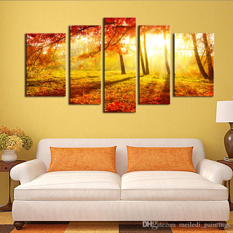Best Canvas Painting Wall Art 5 Panel The Picture For Home ...