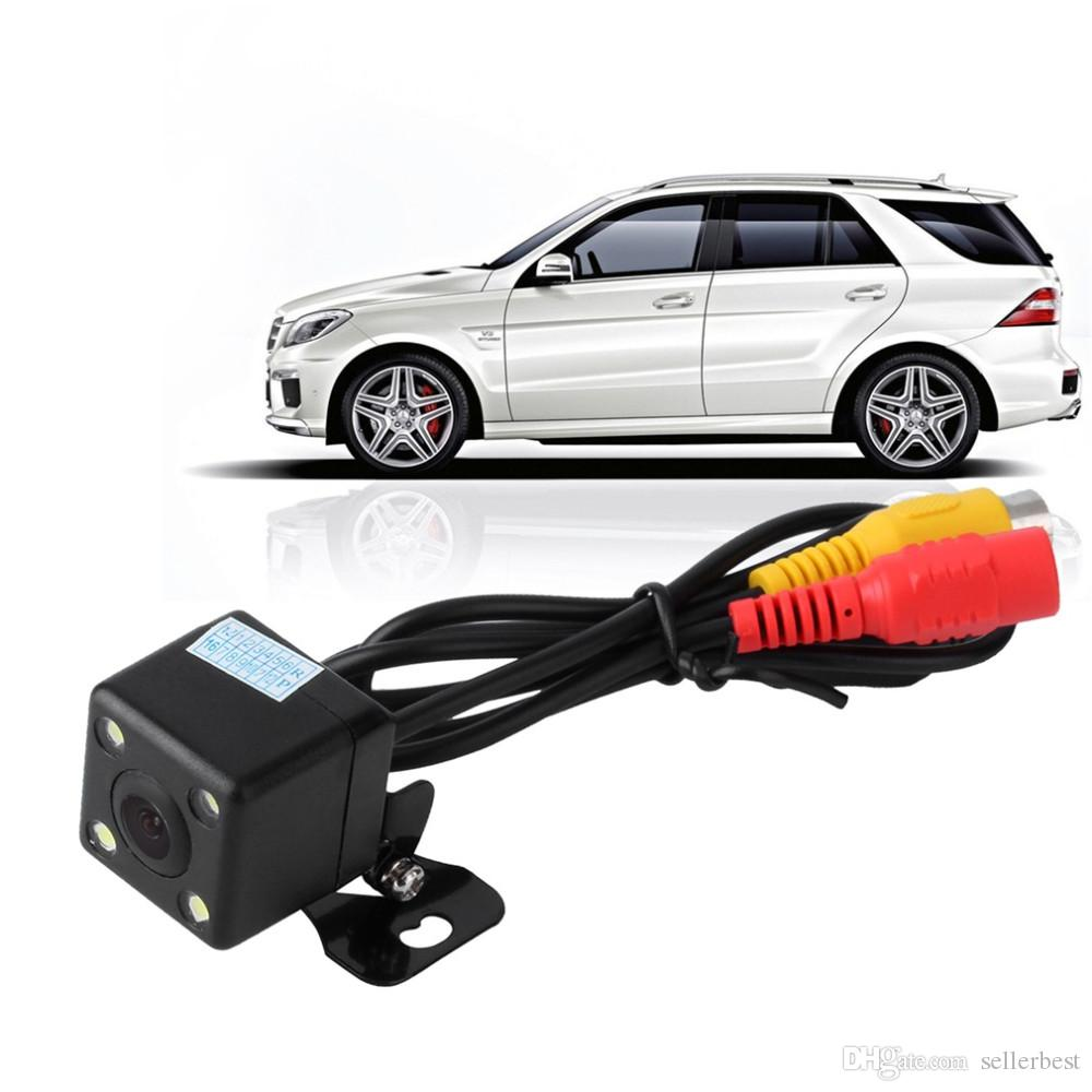 Car Rear View Camera Waterproof 170 Degree HD CCD 4 LED Night Vision Night Parking Assistance Auto Accessories Car Styling