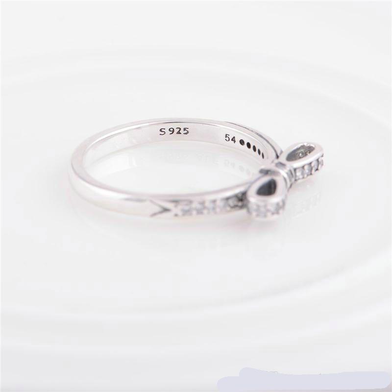 дамы серебряные кольца корона серебряные ювелирные изделия S925 стерлингового серебра подходит для pandora стиль горячие продажа для женщин девушка Марка качество RIP108