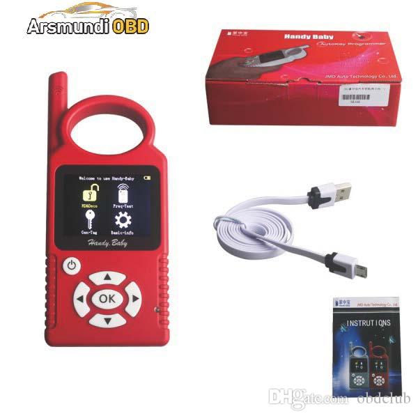 Multi-Languages V8.8.9 Handy Baby CBAY Hand-held Car Key Copy Transponder Key Programmer for 4D/46/48 Chip CBAY Programmer