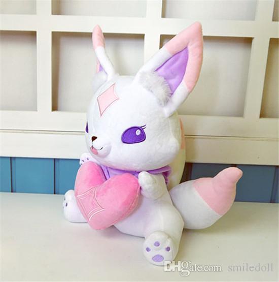 Star Guardian Ahri Little Cute Fox Kiko Mascot Anime Stuffed & Plush Cartoon Doll