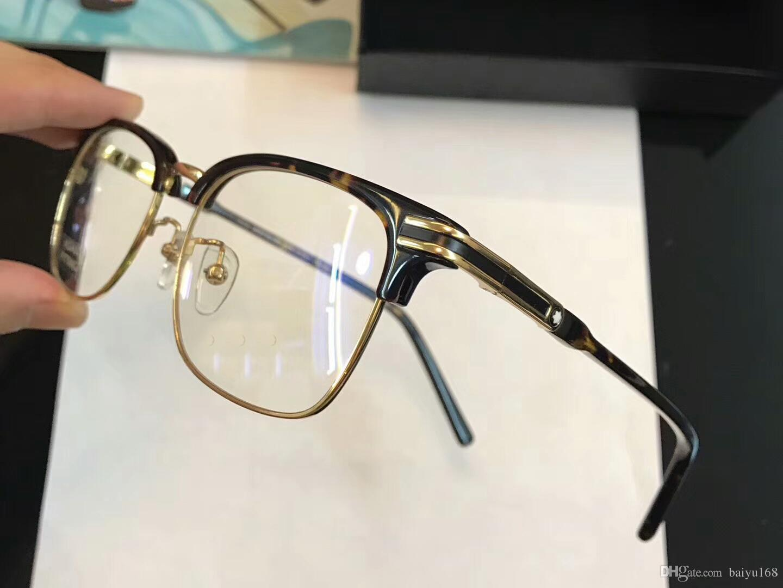 b6ab6a2340d 2019 Men Gold Shiny Black Square Glasses Eyeglasses Frames Mod 669 Fashion Sunglasses  Frames 53 18 145 Brand New With Box From Baiyu168