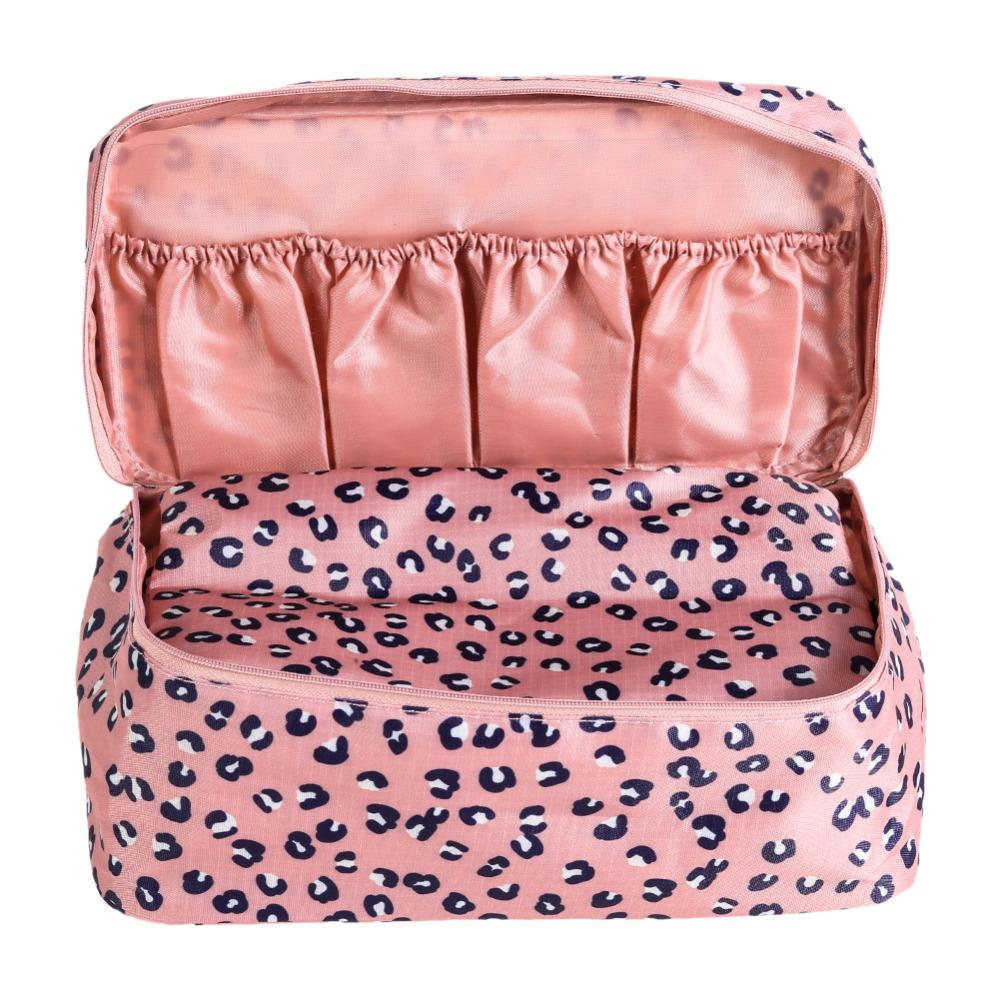 Wholesale- Travel Sexy Women zipper Makeup Bags Bra Underwear Waterproof And portable High Quality Organizer Bag Toiletry Bag Storage Case