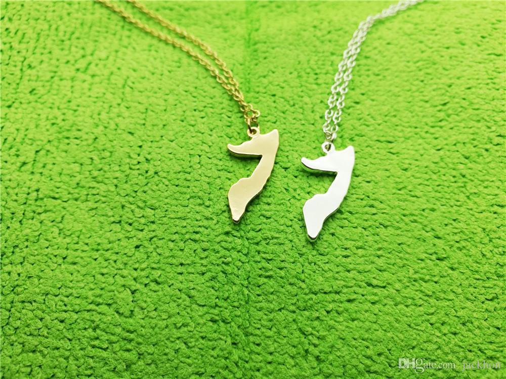 Африканская карта страны Сомали кулон цепочка ожерелье Шарм кулон контур гордость Soomaaliya остров ожерелья для сувениров подарок ювелирные изделия