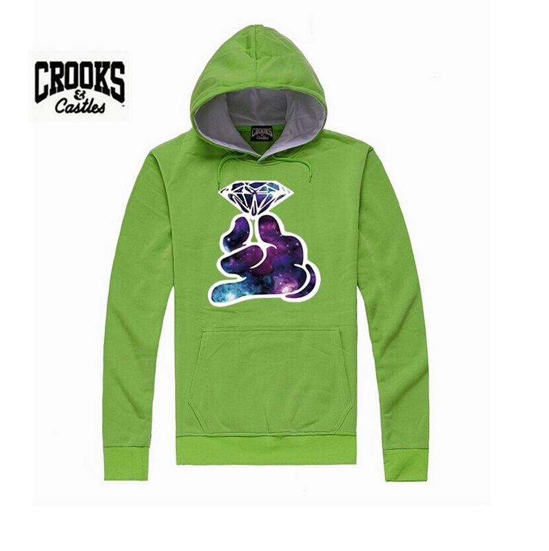 s-5xl hip hop men New Arrived Autumn Social Hoodie Clothing High Quality Crooks and Castles Hoodies