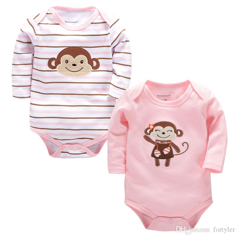47f948d5d674 Newborn Baby Rompers Long Sleeve Clothing for Baby Clothes Boy Girls ...