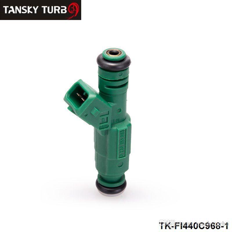 TANSKY - 하이 플로우 연료 인젝터 440cc 42lb 0 280 155 968 EV6 BA BF HSV FPV 터보 TK-FI440C968-1