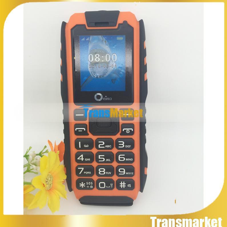 1.8 Inç land Rover XP7 Sağlam Su Geçirmez Telefon 1.8 inç MTK6531 1.2 GHz 2.0MP Kamera Android 4.0 Toz Geçirmez Darbeye Hiçbir Akıllı telefon