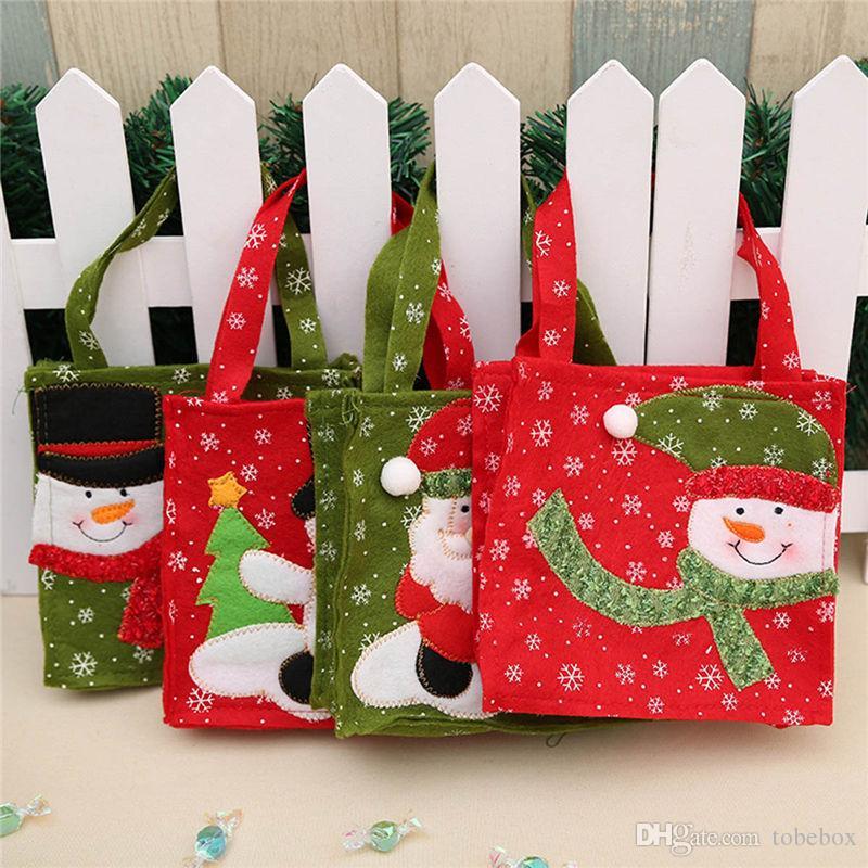 Großhandel Weihnachten Süßigkeiten Geschenk Tasche Weihnachten ...
