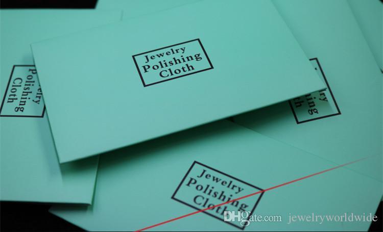 925 Sterling Silver Ploising Ploth Moda Donna Gioielli Pulizia la pulizia di pulizie collana con bracciale con pacchetto di carta 4x7cm