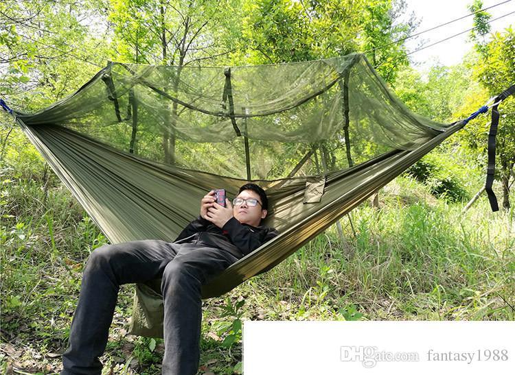 Baum Zelte 2 Person Easy Carry Schnelle Automatische Öffnung Zelt Hängematte mit Bett Netze Sommer Im Freien Luft Zelte Schnelle Lieferung