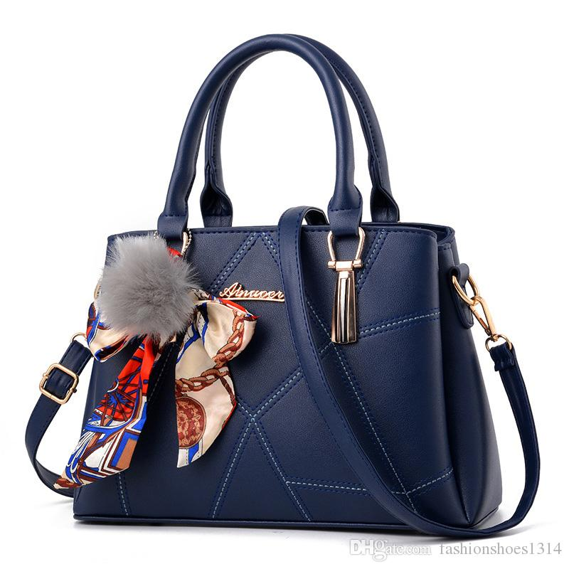 2322e1ee73 2017 Luxury Bags Handbags Women Famous Brand Designer Tote Bag Business  Handbag High Quality Leather Crossbody Bags Lady Casual Shoulder Bag Leather  ...