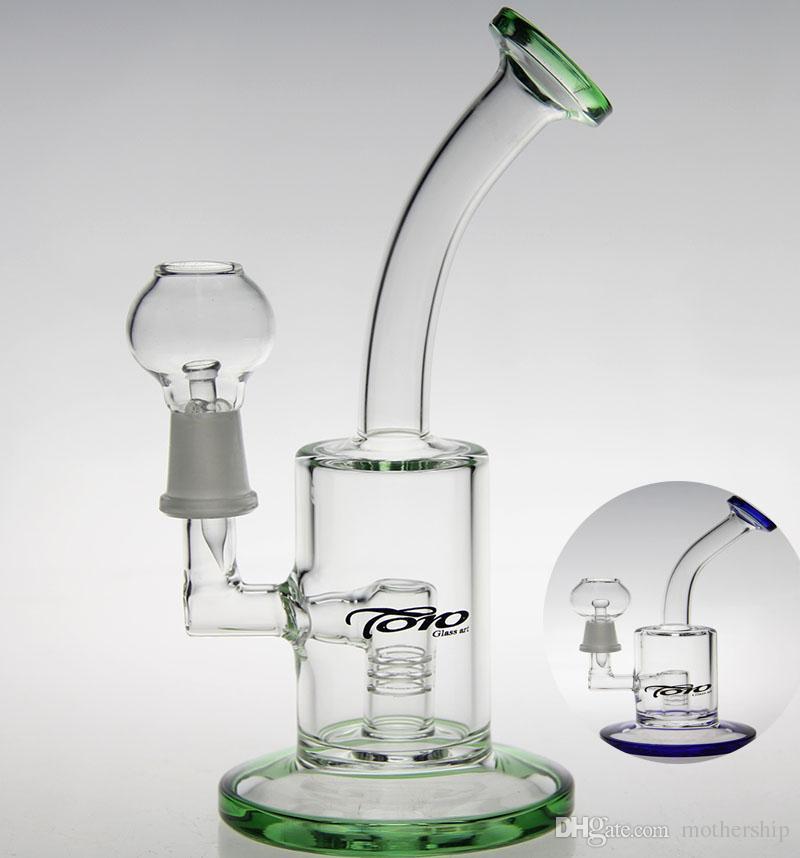 di alta qualità del vetro Arte del vetro pyrex bong tubi tocchi rig olio d'acqua narghilè Inline Marca perk bong pipe tubo di vetro