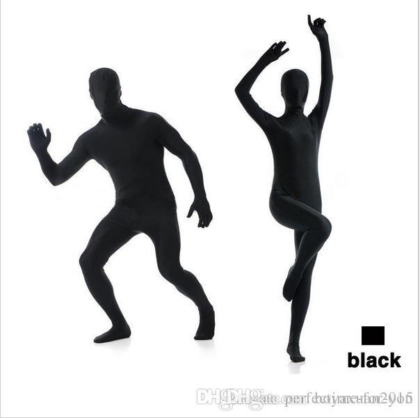 lycra Suit Full Body Zentai 2nd Skin Suit Fancy Dress Costumes Halloween