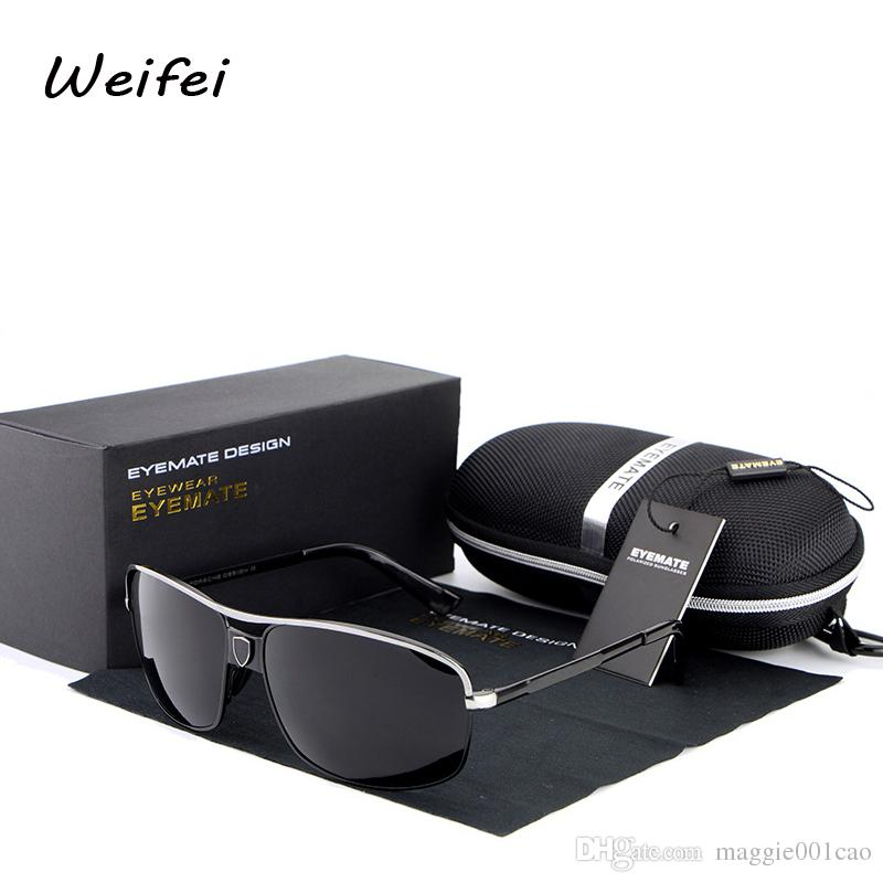 2016 Sunglasses Sports Nouveau Pilote Mâle Polarisées Air Lentille Eyemate Lunettes Soleil Miroir Conduite Eyewears Pêche De Plein Hommes YDHI2b9eWE