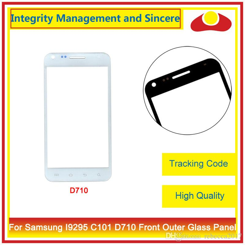 For Samsung Galaxy S2 II Epic 4G D710 And S4 ZOOM C101 S4 Active i9295 i537 Front Outer Glass Lens Touch Screen Panel