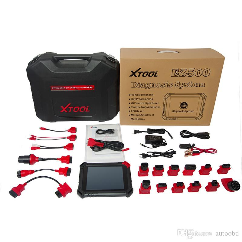 2016 Promotion 100% Original XTOOL EZ500 Diagnosis tool ,EZ500 Car scanner as XTOOL ps90 Diagnosis tool free update online