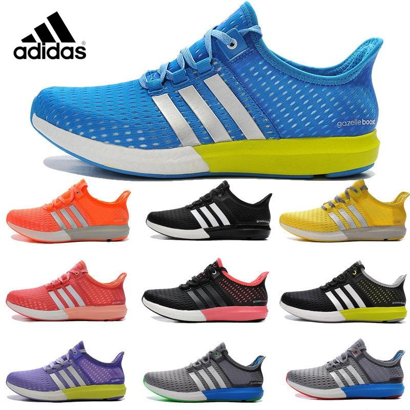Adidas Original Gazelle Boost 2016 Mens Women's Athletic Running Shoes 100%  Original Cheap Leather Skate Shoes Basketball Shoes Basketball Shoes Men  Shoes ...